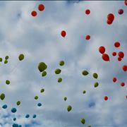 Picture Of Balloons In Sky