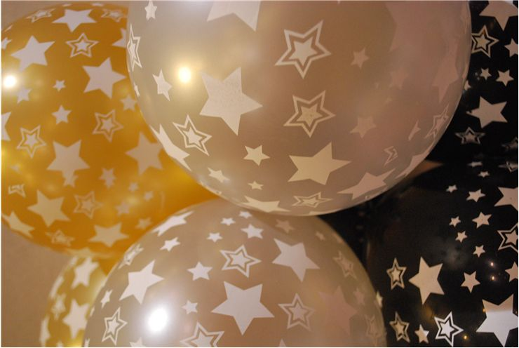 Picture Of Balloons With Stars