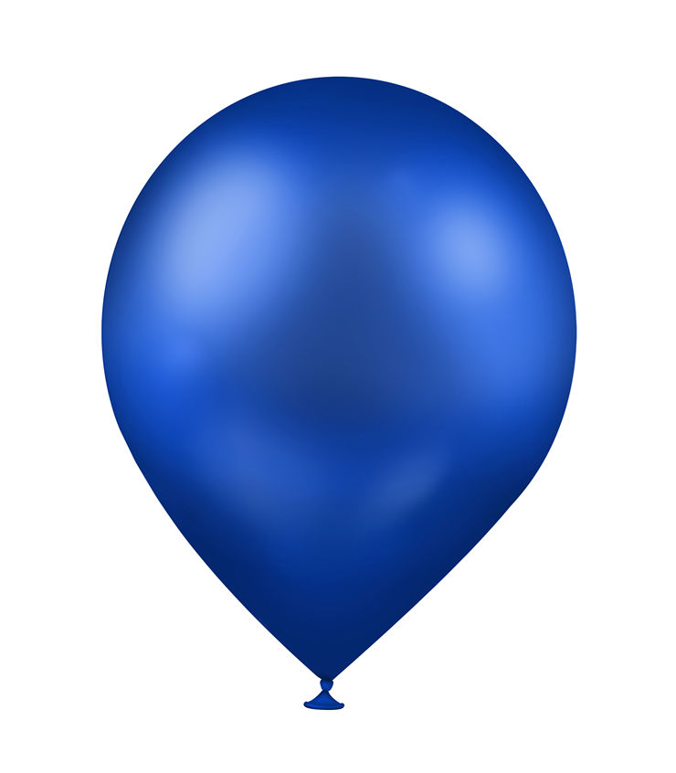 Picture Of Blue Balloon