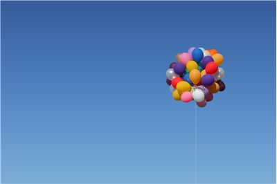 Picture Of Cluster Balloons For Party