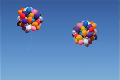 Picture Of Cluster Balloons