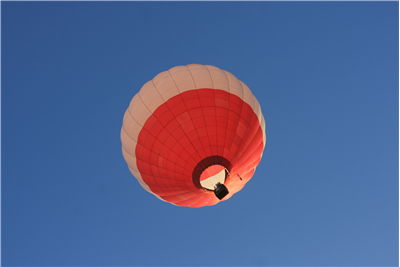 Picture Of Flight Of Hot Air Balloon