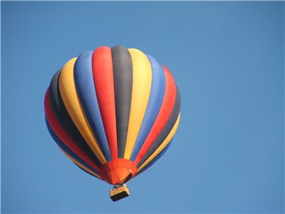 Picture Of Flying Hot Air Balloon