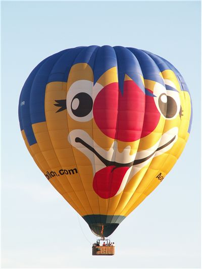 Picture Of Funny Hot Air Balloon