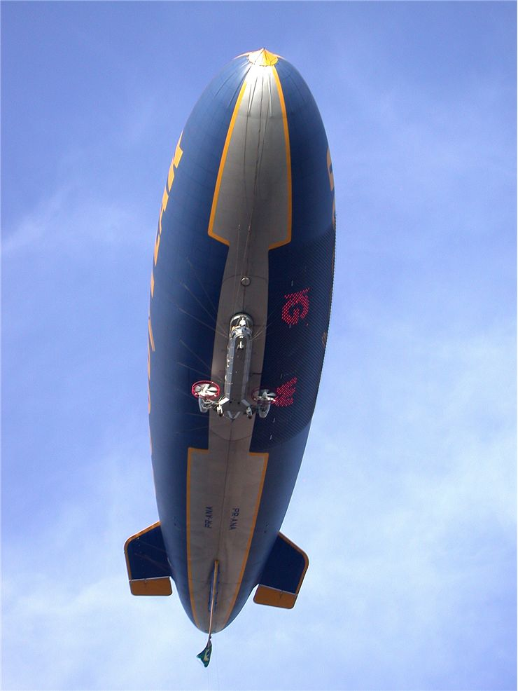 Picture Of Goodyear Blimp Balloon