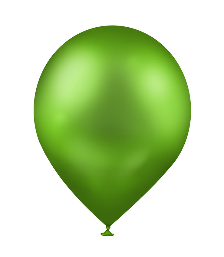 Picture Of Green Balloon