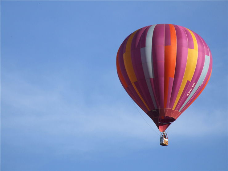 Picture Of Hot Air Balloon Flight