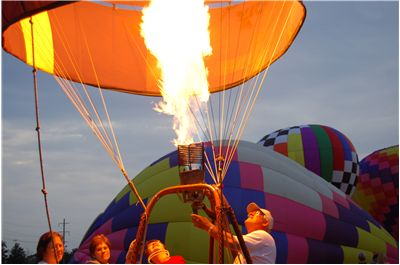 Picture Of Hot Air Balloon Rally