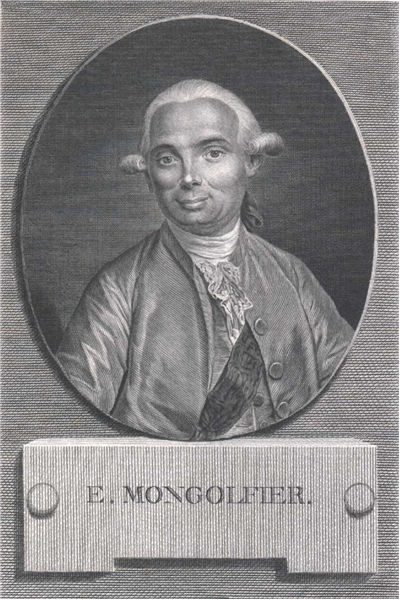 Picture Of Jacques Etienne Montgolfier