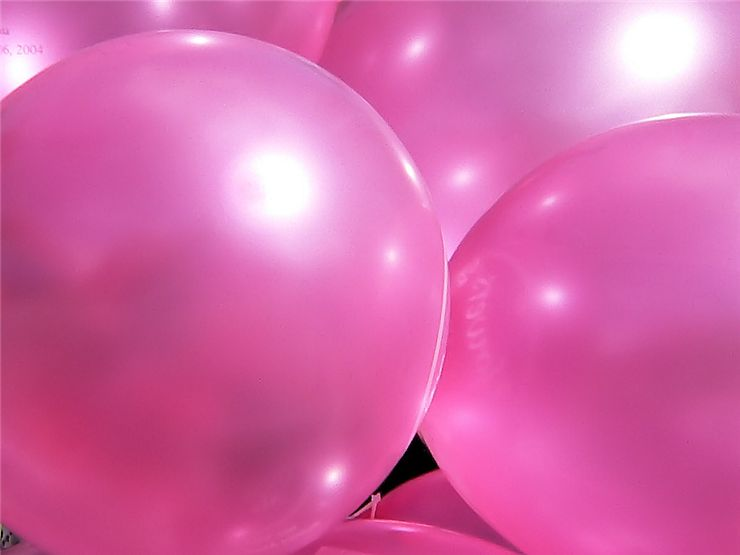 Picture Of Pink Toy Balloons