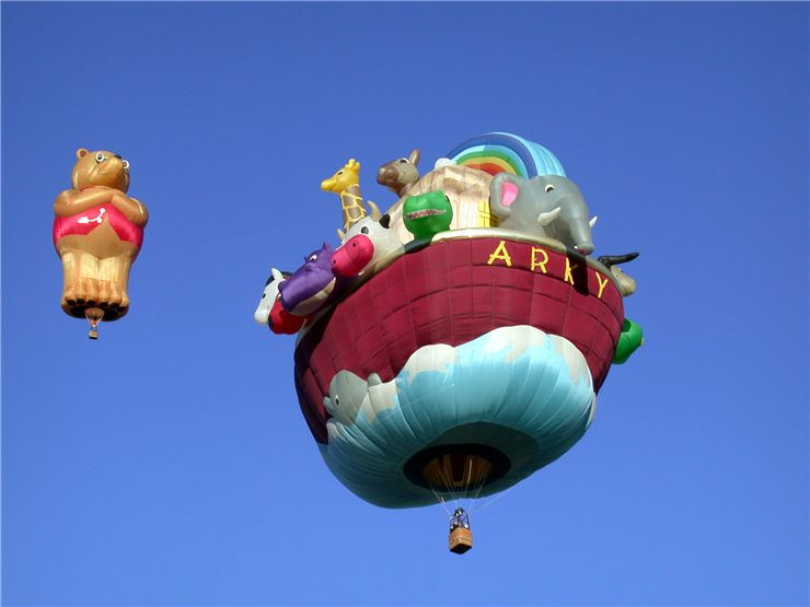 Picture Of Special Shaped Hot Air Balloons