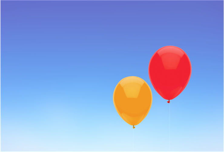 Picture Of Two Balloons